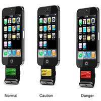 Wholesale iPega Digital Alcohol Tester Analyzer Breathalyzer w Light Color LCD For iPhone S iPad BK