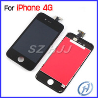 For iPhone 4 LCD Digitizer Glass Assembly Touch Screen Repla...