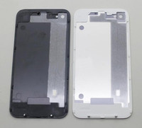 Wholesale good Glass Back Housing Battery Door Cover Replacement part for iphone S Black White