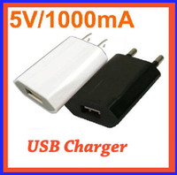 Wholesale 100pcs Top USB Power Adapter Wall Charger for G GS US Plug Genuine V A for I8 I9 flytouch