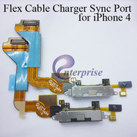 Wholesale For iPhone G Dock Connector Charger Flex Cable Black white Charging Port AA0034
