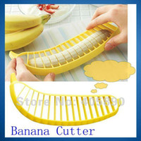 Wholesale Banana Slicer Household Goods Novelty Banana Cutter for Kitchen