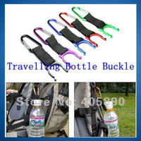 Carabiner 0-0.25 Rock Climb Aluminum Carabiner with Travelling Bottle Buckle Holder Hook for Hiker Camper Outdoor #20531