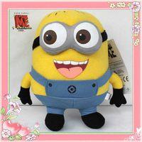 Wholesale Despicable Me Minion D Eye Plush Toy Stuffed Animal Doll CM Jorge Teddy hot