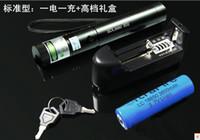 Wholesale mw w nm green laser pointers adjustable burn matches broken balloons key battery changer box