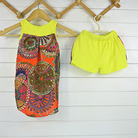 Wholesale New national dress sleeveless suit children small children s clothing to years old children s