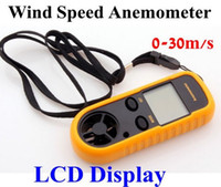 Wholesale Digital LCD Wind Speed Scale Anemometer Thermometer