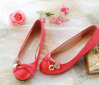 Wholesale 2013 new women s shoes flat shoes pink wedding shoes bridal shoes