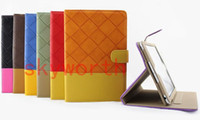 Wholesale Slim Collision Color Book Stylish Leather Case for ipad mini Folio Stand