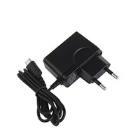 Wholesale 500pcs EU Travel Wall Home Charger for Nintendo DS NDS Lite European EU Charger for N