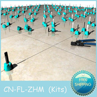 Wholesale CN FL ZHM Kits Tile and floor accessories a tiling tools Tile leveling system solve flooring level