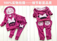 sport clothing wholesale - 4sets colors kids sport wear Baby Clothing Set girls sport suit Baby Clothes Baby Garment Sport