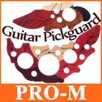 Wholesale 1 Pair Leaf Design Acoustic Guitar Pickguard Parts I85