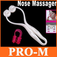 Wholesale White Beauty Nose Up Shaping Lifting Facial Slimming Massager Roller Dropshipping