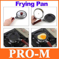 Wholesale Mini Cute Heart Shaped Fry Fryer Frying Pan Egg Pancake Non Stick Pot Cookware Free