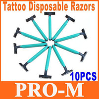 Wholesale 5sets Tattoo Dual Blade Disposable Razor H8774 Dropshipping