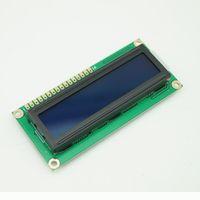 Wholesale 10PCS V Character LCD Module Display Shield LCM HD44780 X2 Blue Backlight BV060 CF