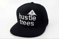 Wholesale LRG hustle trees Snapback hats BLACK fashion baseball caps amp dropshipping freeshipping