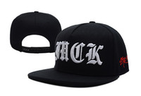 Wholesale SSUR Fuck Old English Black obey cap velcro basketball snapback strap back snake skin ny caps