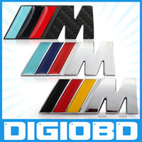 Wholesale III M M3 Style Metal Car Grille Emblem Badge Logo for BMW Car Tuning Badge