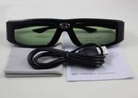 Wholesale 3D DLP Link Projector Active Shutter Glasses
