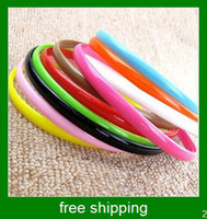 Wholesale new color plastic hair band fashion hair band FS