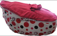 Wholesale red dots doomoo baby bean bag baby seat baby chaie