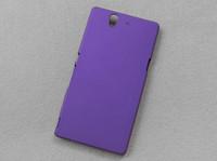 Ракушка масло Цены-Конфеты Цвета масла матовый Жесткий Пластиковый корпус Матовая кожа задняя крышка Shell для Sony Xperia Z L36i L36h