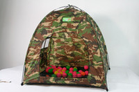 Wholesale 1piece Tent Children Game Portable camouflage Tent Folding Outdoor Game House