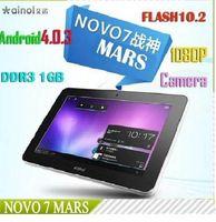 Wholesale Ainol novo Mars quot android tablet pc HD x600 WIFI camera GB GB capacitive