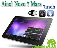 Wholesale Ainol Novo Mars quot Tablet PC Andriod DDR3 GB GB Amlogic Cortex A9 Ghz Sample Available