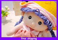 Wholesale High Quality Lovely Pink Yuppies Dolls Model Toys Figure Gift cm Cotton Stuffed Dolls