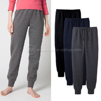 Wholesale UNIQLO women s lounge pants hollow cotton push up sports pants leg trousers beam port pajama pants w