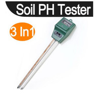 Wholesale Hot Selling in1 Plant Flowers Soil PH Tester Moisture Light Meter