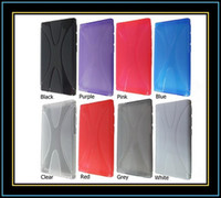 Wholesale For iPod Nano case X Line Soft TPU Gel Skin Cover Case for Apple iPod Nano th Gen Nano Case