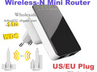 Soho QoS Wireless Portable 300Mbps Wireless-N Mini Router Internet Connection WPS with WiFi Repeater Computer Networking for Laptop Phone Computer Black