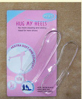 Wholesale Silicone Clear Gel Pads Cushion Heel Protector Shields Liner Shoe Insole