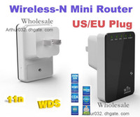 Wholesale Super Cool Portable Mbps Wireless N Mini Router Internet Connection with WiFi Repeater WPS for Computer Laptop PC Smart Phone