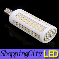 2013 newest E27 led corn light 110V 220V warm white 6W 112le...