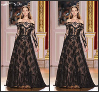 Cheap Reference Images Evening Dress in Lebanon Best A-Line Off-Shoulder Zuhair Murad Haute Couture