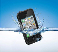 Wholesale Shockproof Waterproof Cover Case for iPhone4 iphone4s Cases