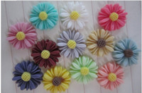 Wholesale DIY mobile beauty nail decorative high quality resin flowers mm color sunflowers small daisies