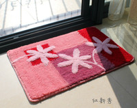 Wholesale Floor Mat x60CM GOOD Quaity Foot Rugs Absorbs Wate Colorful Bath Bedroom Mat Door Mat