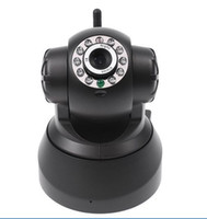 Wholesale Nightvision IR Webcam Web CCTV Camera WiFi Wireless IP Camera white black color dropshipping