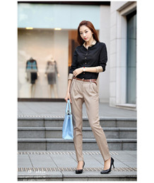 Wholesale Harem Pants Hot Fashion Korea Version Leisure Joker Trousers Black Khaki Girl Love OL lady style