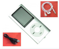 Wholesale Silver GB quot LCD Screen MP3 MP4 Media Video Player Music Radio FM Up To GB DKHA90