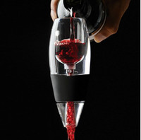 Wholesale Hot New Magic Decanter Essential RED Wine Aerator and Sediment Filter free shipped by Fedex