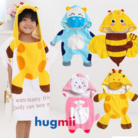 Wholesale Fashion Baby hooded bathrobe So Lovely Hoodie Hoody Costume Bath Towel Robe Robes for kids by Nissen