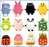 Wholesale b2w2 cute children s school bags Boys and girls shoulder bag Zoo pack