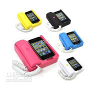 Wholesale Phone x Phone Retro Handset Dock Stand Classic Hot Sale for Phone G GS S Multi Color
